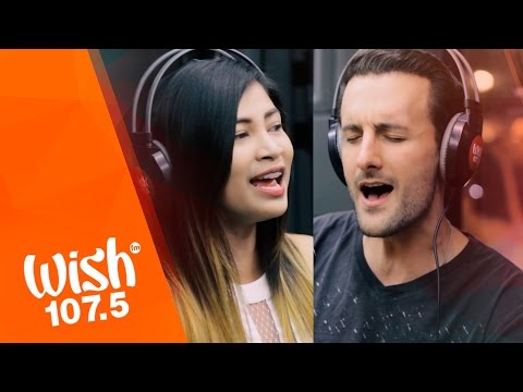 "David DiMuzio, Shane Tarun sing ""Again (Muli)"" LIVE on Wish 107.5 Bus"