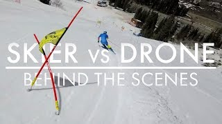 Skier vs Drone with Victor Muffat-Jeandet | Behind The Scenes | Salomon