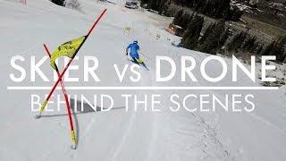 Skier vs Drone | Behind The Scenes