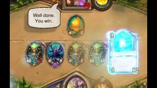 [Hearthstone] How to make your opponent give up, and fast
