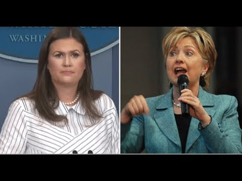 WATCH SAHRAH HUCKABEE JUST UNLOADED ON HILLARY IN PRESS CONFERENCE MEDIA STUNNED!