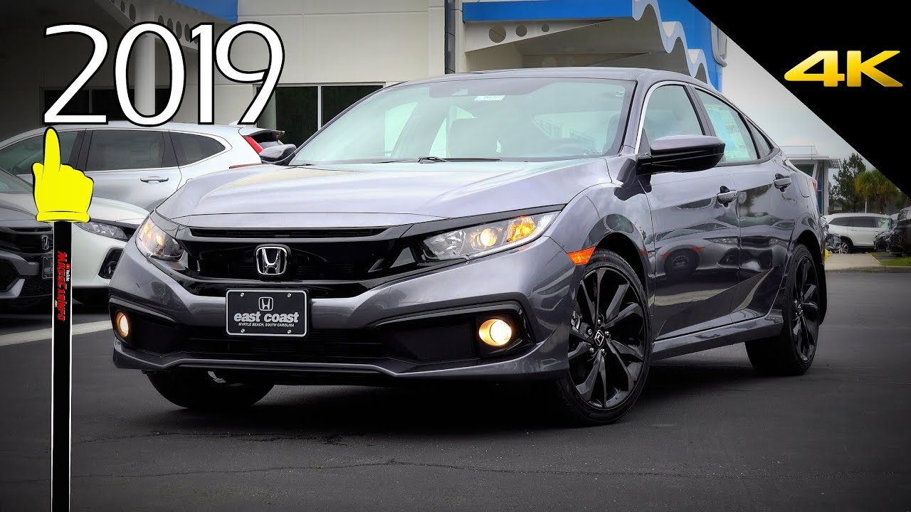 2019 Honda Civic Sport - Ultimate In-Depth Look in 4K - YouTube