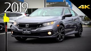 2019 Honda Civic Sport - Ultimate In-Depth Look in 4K
