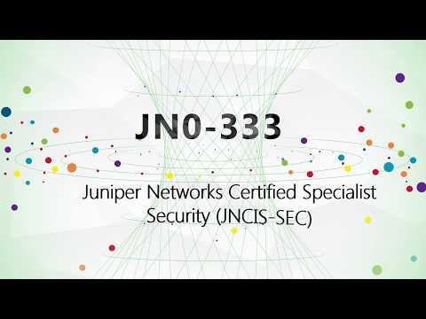 JN0-333 Security, Specialist JNCIS-SEC practice test