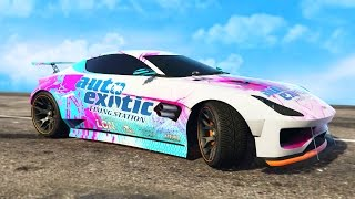 NEW $1,000,000 SPORTS CAR SPENDING SPREE (GTA 5 Online)