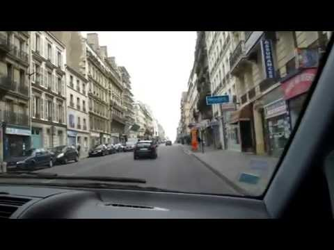 Car ride from Paris To Charles de Gaulle Airport