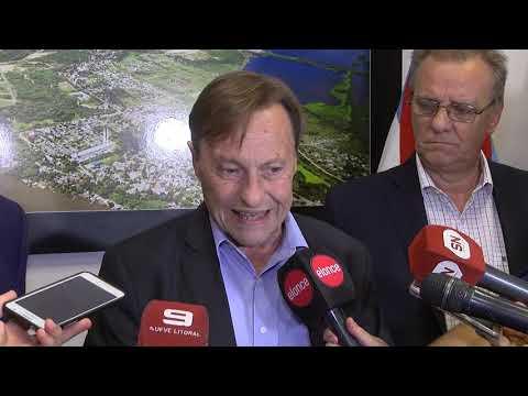 Varisco anunció la firma de la paritaria municipal de Paraná