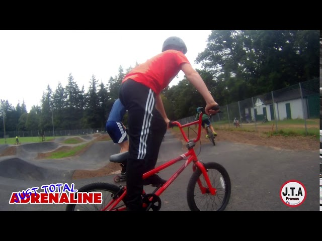Hawick Pump Track - Short video of the Hawick Community Pump Track  2 -JTAPromos - www.jtapromos.net
