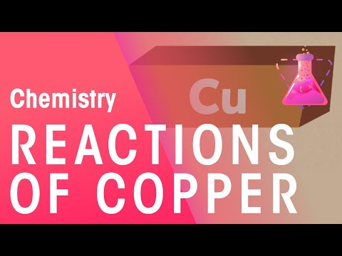 Reactions Of Copper | Reactions | Chemistry | FuseSchool