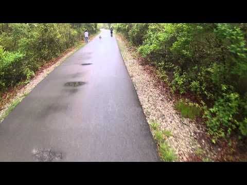 Polly Ann trail north. All of Oakland County! Pt 1.