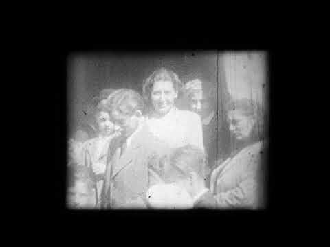 Unikátní záběry z vizitace arcibiskupa Josefa Berana na Zlíchově