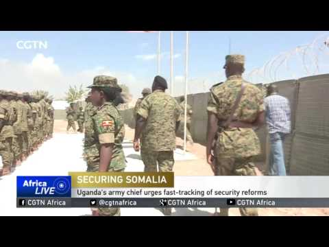 Uganda's army chief urges fast-tracking of security reforms