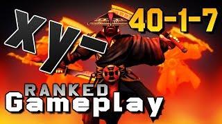 xy- Ember Spirit 40-1-7 Dota 2 Gameplay