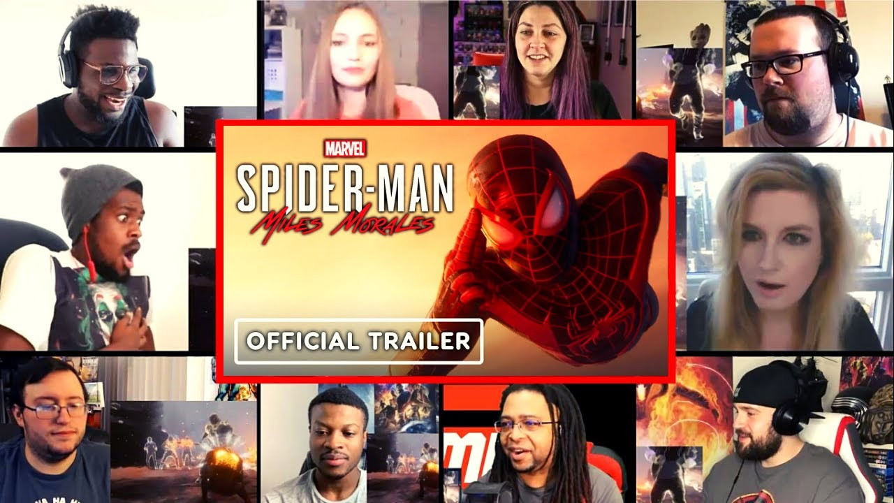 Marvel's Spider-Man: Miles Morales - Official Launch Trailer Reactions Mashup
