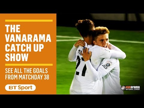 Vanarama National League Highlights Show | Matchday 38