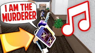 TROLLING PLAYERS WITH MY RADIO!! *FUNNY* (Roblox MM2)