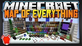 Minecraft | A MAP OF EVERYTHING! | Block / Item Showcase Map!