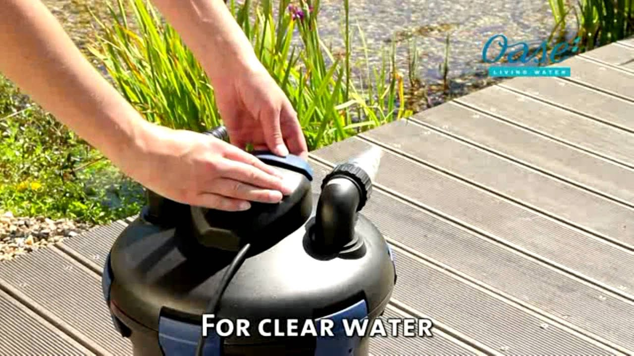 Oase Biopress Set Pond Pump And Filter Youtube Installing For