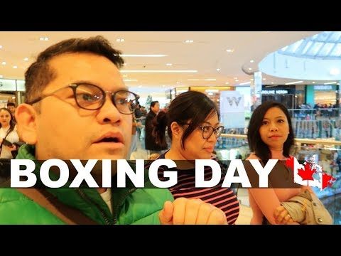 CRAZY !!! Boxing Day In Canada  2017