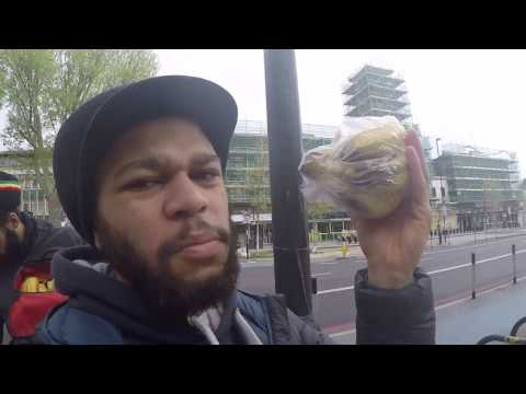 Vegan Chains London to Birmingham Cycle Tour Part 1/5 The London Banana Swindle