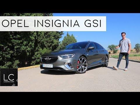 OPEL INSIGNIA GSI / Review en español / #LoadingCars