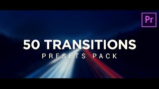 50 FREE Smooth Transitions Preset Pack for Premiere Pro Tutorial (2019)