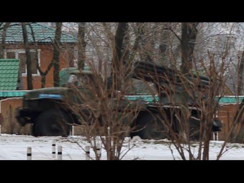 Утренний обстрел Донецка