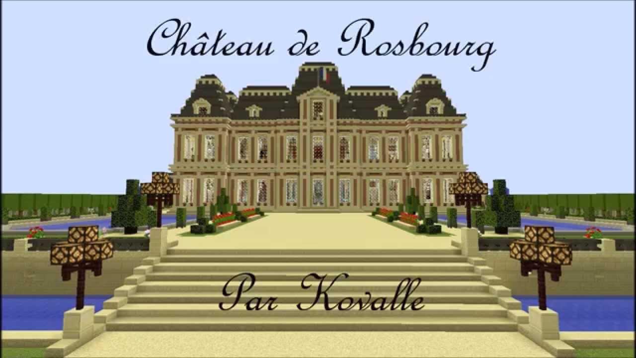 Ch teau de rosbourg youtube - Chateau de minecraft ...