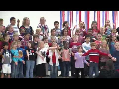 Cecil Floyd Elementary Veterans Day Assembly 2015