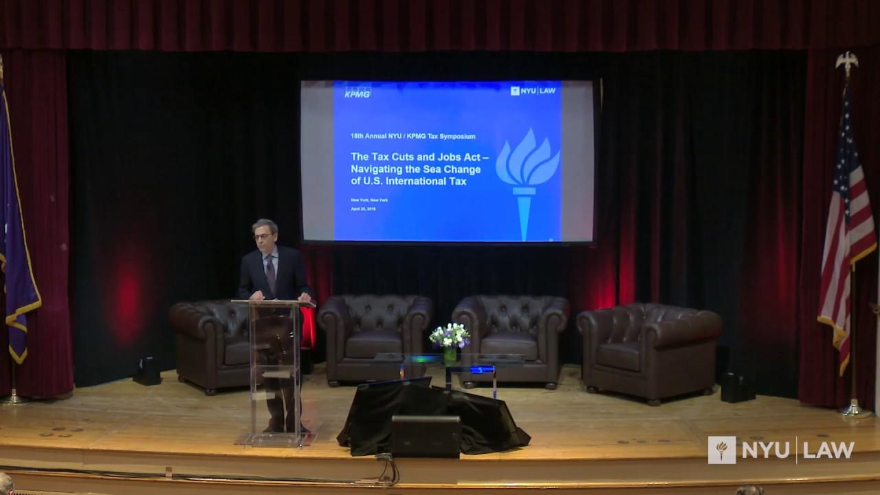NYU/KPMG Annual Lecture (2018): Part 1