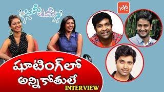 Telugutimes.net Aditi Myakal and Eesha Rebba Funny Chit Chat