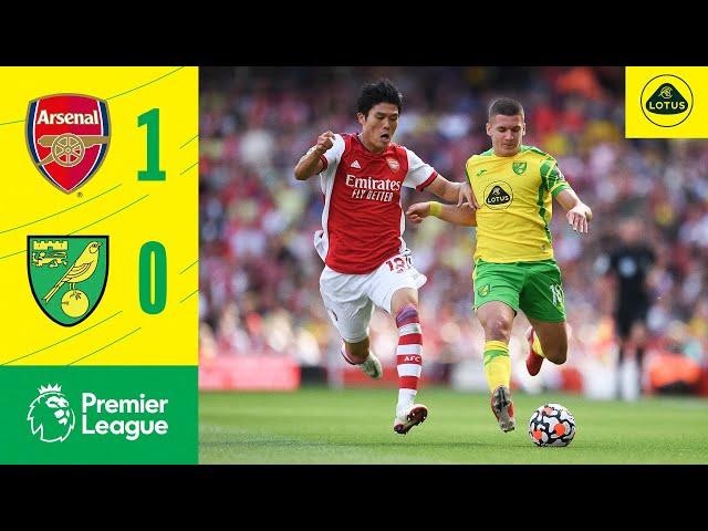 HIGHLIGHTS | Arsenal 1-0 Norwich City