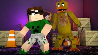 Minecraft: MELHOR MAPA DE FIVE NIGHTS AT FREDDY'S!