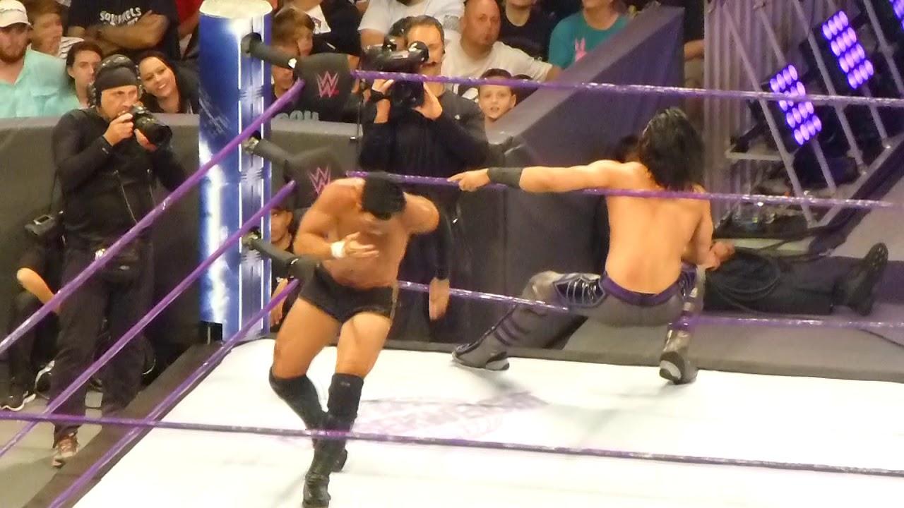 Download Mustafa Ali vs Hideo Itami at WWE 205 Live