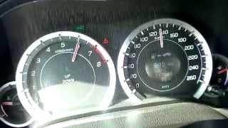 2010 Honda Accord 2.0 i-VTEC 156 SEDAN acceleration 0-100 0-140