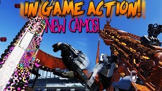 NEW CAMOS! Psychedelic, Lagoon, Tiki, Backdraft Camos In Game Action! COD Advanced Warfare