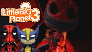 Sackboy.UNZIPPED! | Little Big Planet 3 Multiplayer (28) Sackboy.Exe Creepypasta