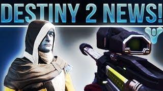 Destiny 2 News! (Master Rahool, Hand Built Weapons, Destiny 2 Beta Content, Treasure Maps & More!)