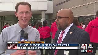 Class begins for Kansas City Public Schools