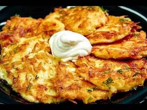 Картофельные драники, пошаговый рецепт с фото