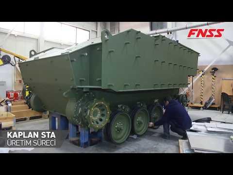 FNSS - KAPLAN STA Silah Taşıyıcı Aracı Üretim Süreci
