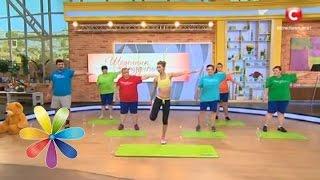 Комплекс упражнений от Аниты Луценко и Дневников похудения. Первая тренировка