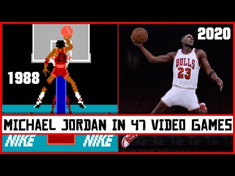 MICHAEL JORDAN, The Evolution In Video Games [1988 - 2020]
