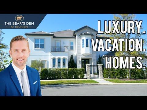 Luxury Vacation Homes near Disney World | Orlando, Florida | Bear's Den at Reunion Exclusive Tour