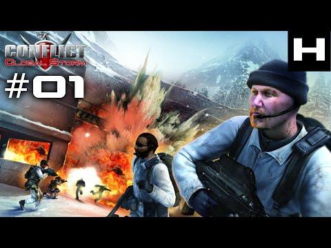 Conflict Global Storm Walkthrough Part 01 [PC]
