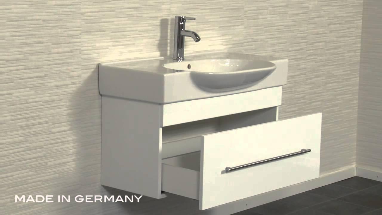badm bel prestige 850 weiss youtube. Black Bedroom Furniture Sets. Home Design Ideas