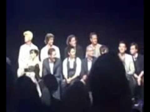 Music Box Glee cast Q&A part 1