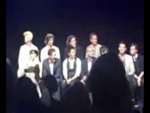 Music Box Glee cast Q&A part 1
