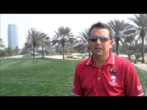Craig Haldane Emirates Golf Club Superintendent at the 25th Omega Dubai Desert Classic