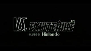 VS EXCITEBIKE (Wii U Virtual Console IMPORT)- Gameplay